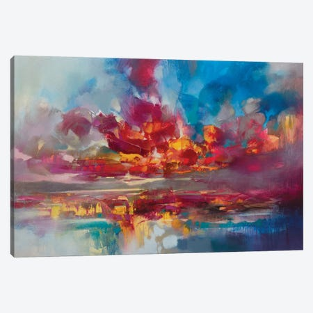 Red Energy Canvas Print #SNH137} by Scott Naismith Canvas Print