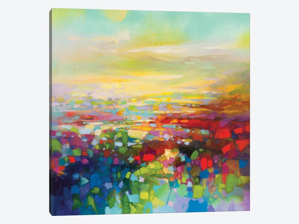 RGB Fragments by Scott Naismith 1-piece Canvas Print