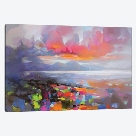 Sound Of Jura Canvas Print #SNH139} by Scott Naismith Canvas Wall Art