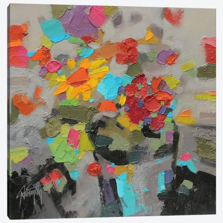 Floral Study I Canvas Print #SNH13} by Scott Naismith Art Print