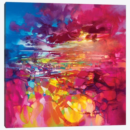 String Theory Canvas Print #SNH140} by Scott Naismith Canvas Art Print
