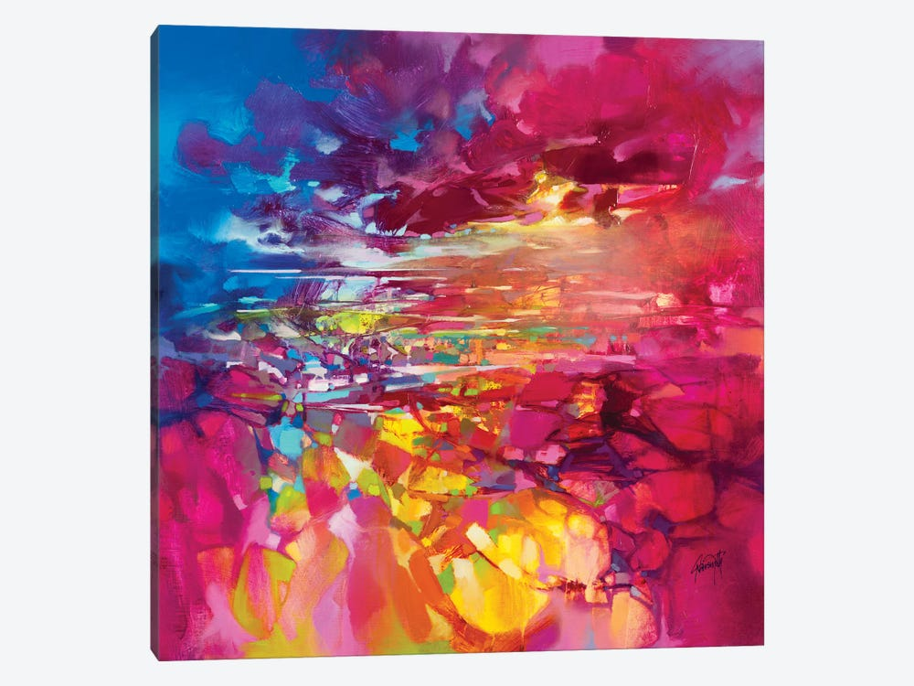 String Theory by Scott Naismith 1-piece Canvas Wall Art