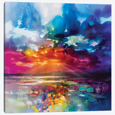 Sun's Energy Canvas Print #SNH141} by Scott Naismith Canvas Print