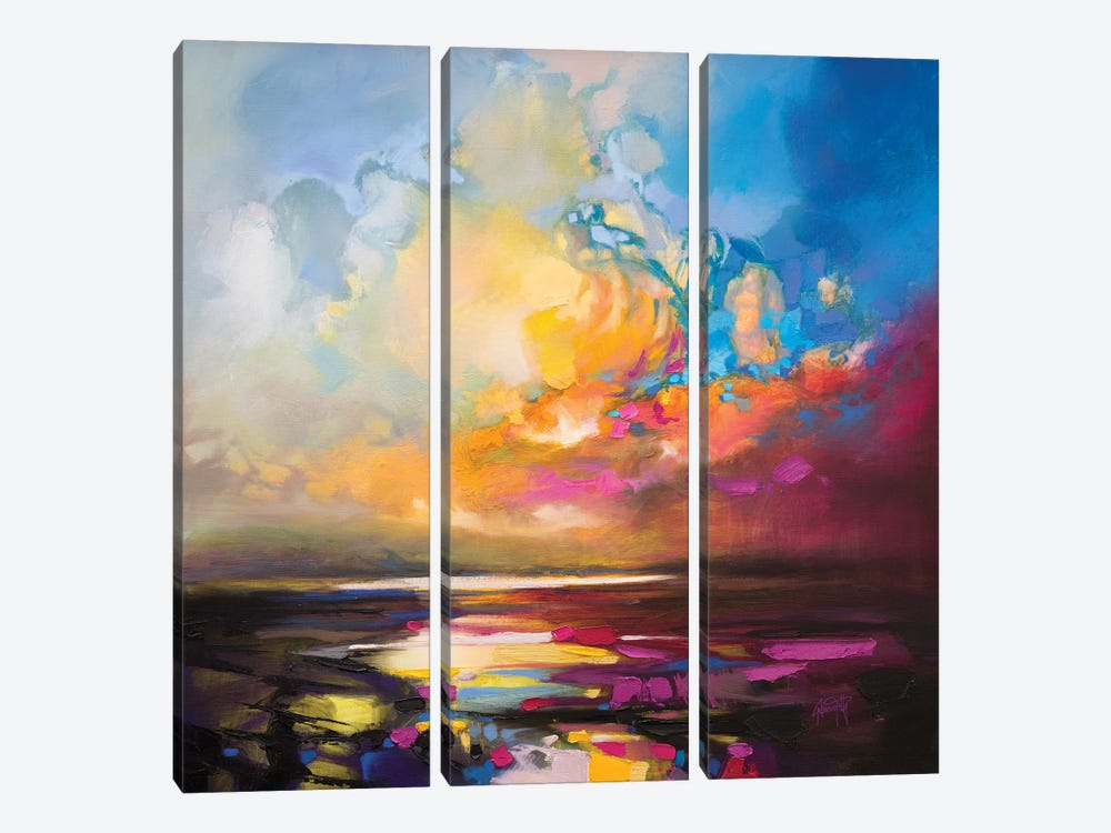 Thermodynamics I by Scott Naismith 3-piece Canvas Art