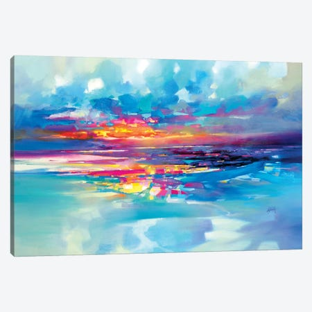 Tranquility Canvas Print #SNH145} by Scott Naismith Canvas Wall Art