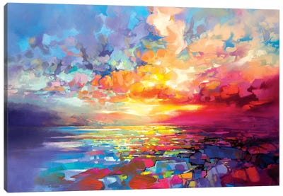 Loch Ness Euphoria Canvas Art Print