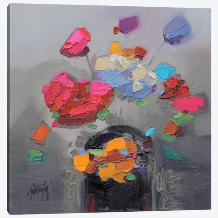 Floral Study II Canvas Print #SNH14} by Scott Naismith Canvas Artwork