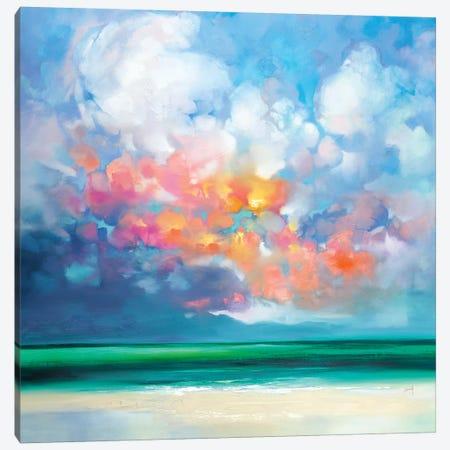 Gulf Stream Green Canvas Print #SNH156} by Scott Naismith Art Print