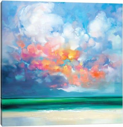 Gulf Stream Green Canvas Art Print