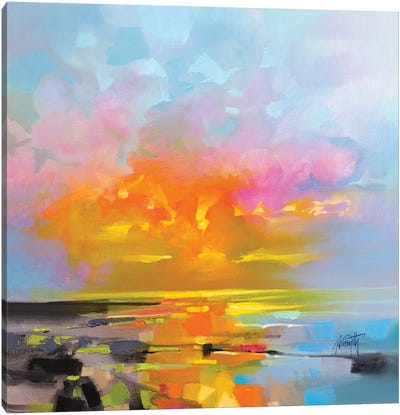 Sunset Fragments Canvas Art Print