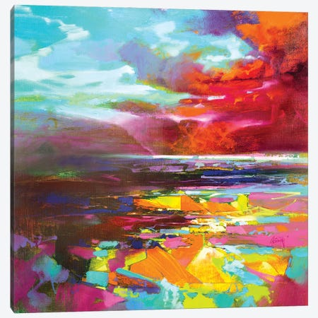 Colour Fragments Canvas Print #SNH170} by Scott Naismith Canvas Wall Art