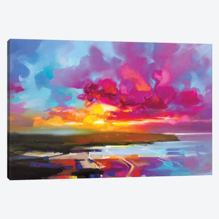 Euphoric Glow 2 Canvas Print #SNH171} by Scott Naismith Canvas Art