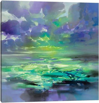 Electric Green Canvas Art Print