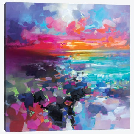 Barra Sunset Fragments Canvas Print #SNH176} by Scott Naismith Canvas Art Print