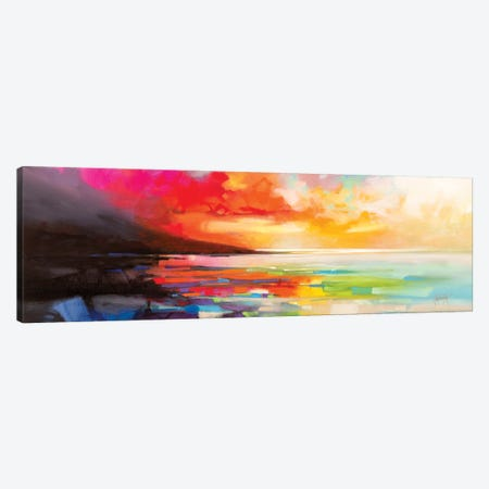 Chaotic Order Canvas Print #SNH178} by Scott Naismith Canvas Wall Art