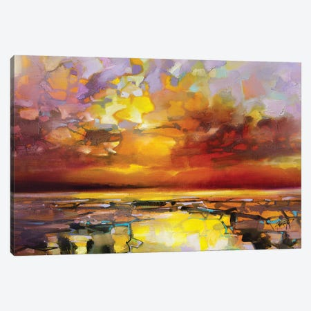 Sound of Skye Canvas Print #SNH179} by Scott Naismith Canvas Art