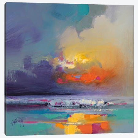 Cumulus Dissonance Study Canvas Print #SNH17} by Scott Naismith Canvas Artwork