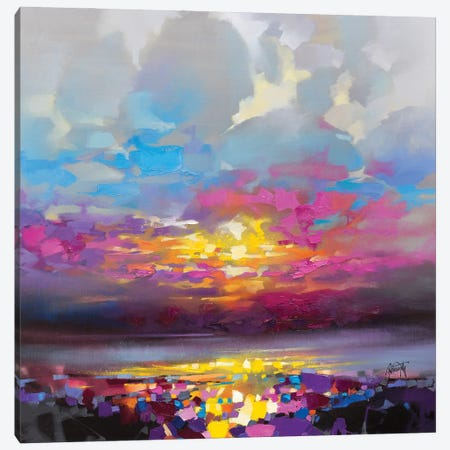 CMY Raasay Canvas Print #SNH180} by Scott Naismith Canvas Print
