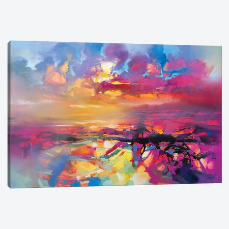 Electric Universe Canvas Print #SNH181} by Scott Naismith Canvas Art Print