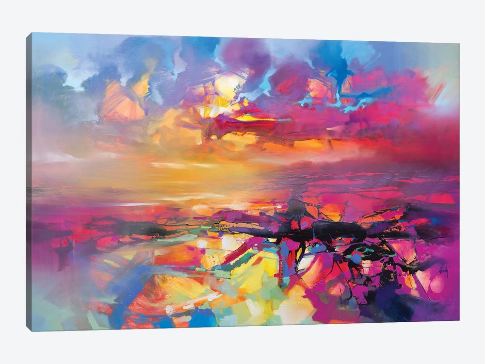 Electric Universe by Scott Naismith 1-piece Art Print
