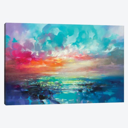 Skye Colour Spectrum Canvas Print #SNH182} by Scott Naismith Canvas Print