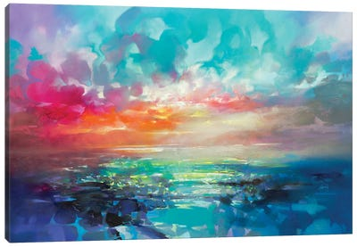 Skye Colour Spectrum Canvas Art Print