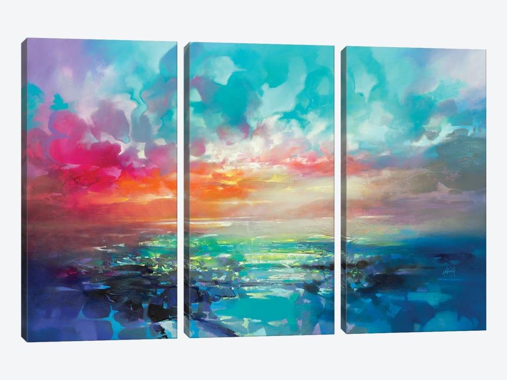 Skye Colour Spectrum by Scott Naismith 3-piece Canvas Wall Art