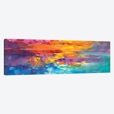 Spectrum Sunrise Canvas Print #SNH183} by Scott Naismith Canvas Print