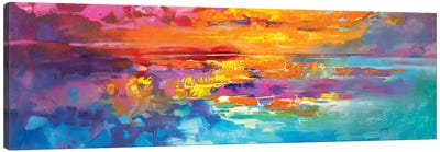 Spectrum Sunrise Canvas Art Print