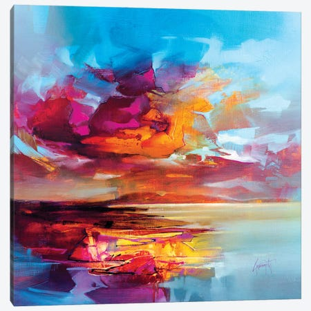 Hebridean Clarity III Canvas Print #SNH187} by Scott Naismith Canvas Artwork