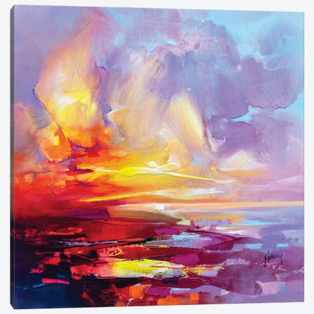 Hebridean Clarity Canvas Print #SNH188} by Scott Naismith Canvas Print