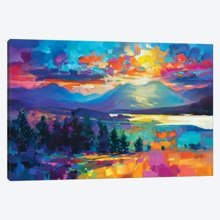 Callums Road Canvas Print #SNH189} by Scott Naismith Canvas Print