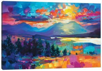 Callums Road Canvas Art Print