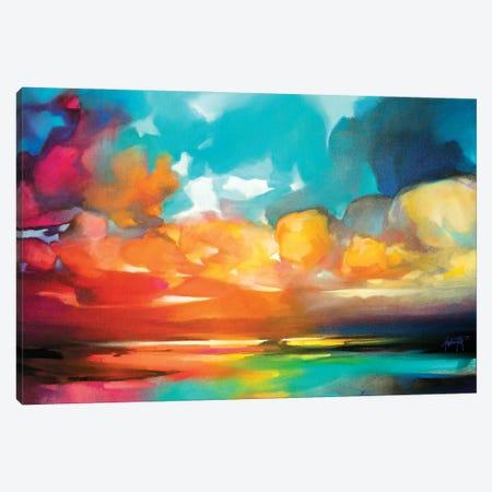 Cloud Spectrum Canvas Print #SNH190} by Scott Naismith Canvas Artwork