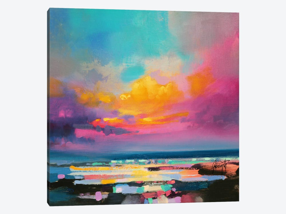 Diminuendo Sky Study II 1-piece Canvas Wall Art