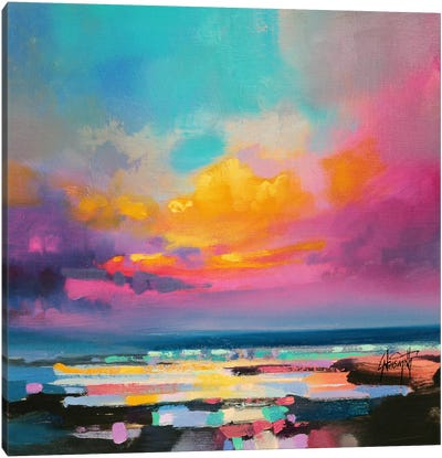 Diminuendo Sky Study II Canvas Art Print