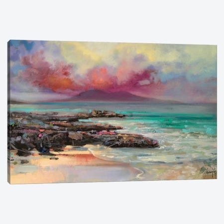 Harris Rocks Canvas Print #SNH1} by Scott Naismith Canvas Artwork