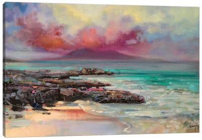 Harris Rocks Canvas Art Print