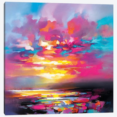 Taoist Colour II Canvas Print #SNH203} by Scott Naismith Canvas Art