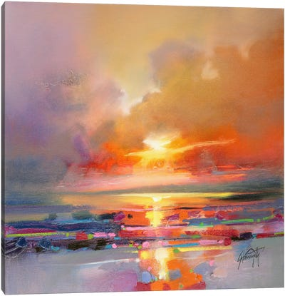 Diminuendo Sky Study III Canvas Print #SNH20