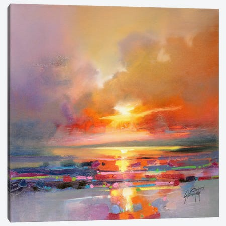 Diminuendo Sky Study III Canvas Print #SNH20} by Scott Naismith Canvas Wall Art