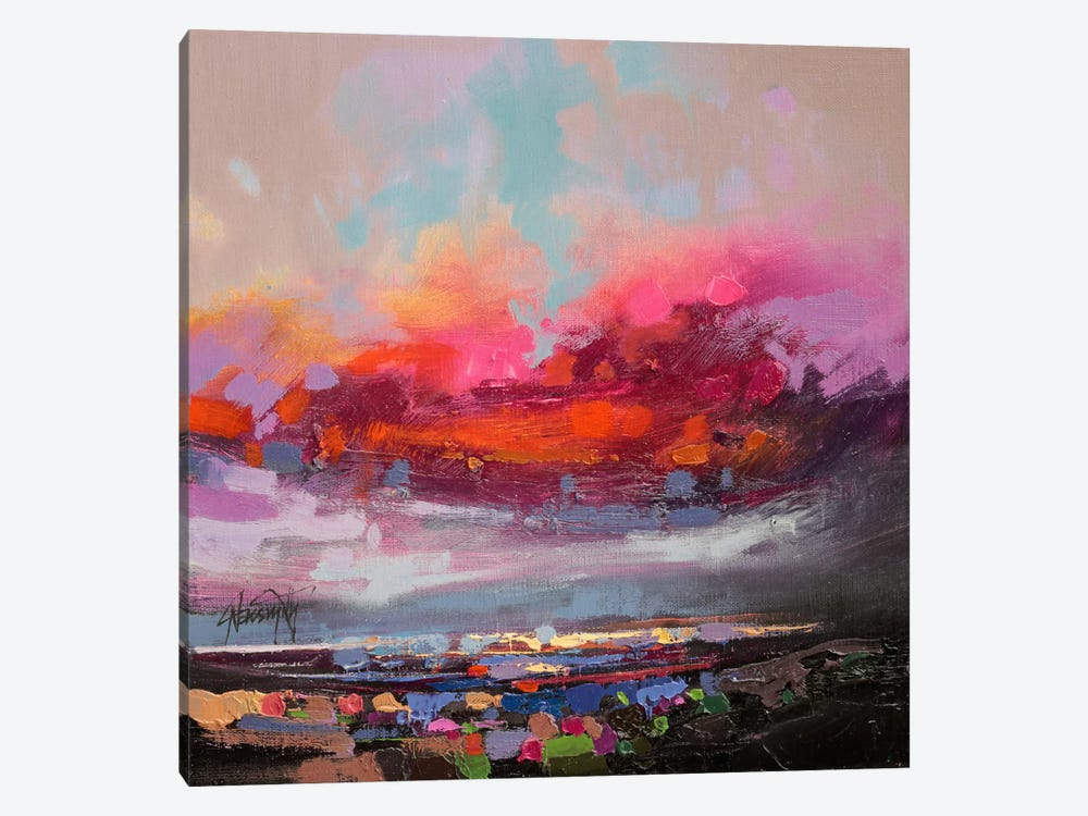 Staccato Loch Study I by Scott Naismith 1-piece Canvas Art