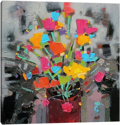 Bouquet of Colour Canvas Art Print