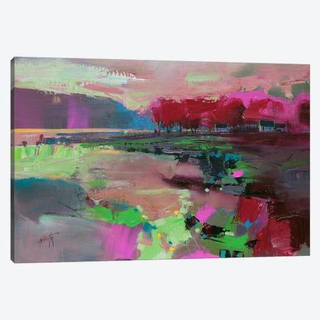 Cowal Trees Canvas Print #SNH2} by Scott Naismith Canvas Artwork