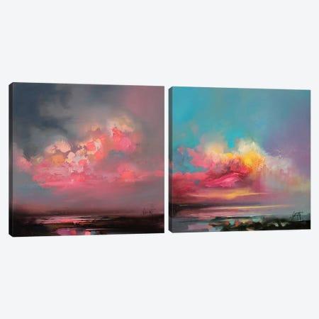 Cumulus Consonance Diptych Canvas Print Set #SNH2HSET001} by Scott Naismith Canvas Wall Art