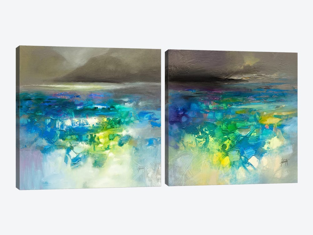 Fluid Dynamics Diptych 2-piece Art Print