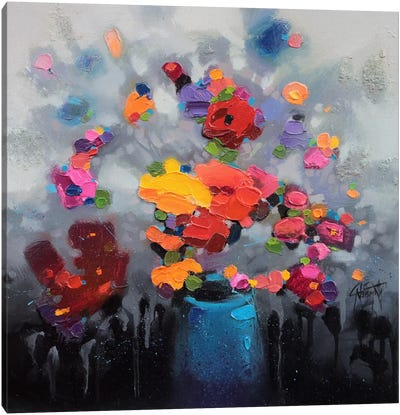 Bouquet I Canvas Print #SNH30