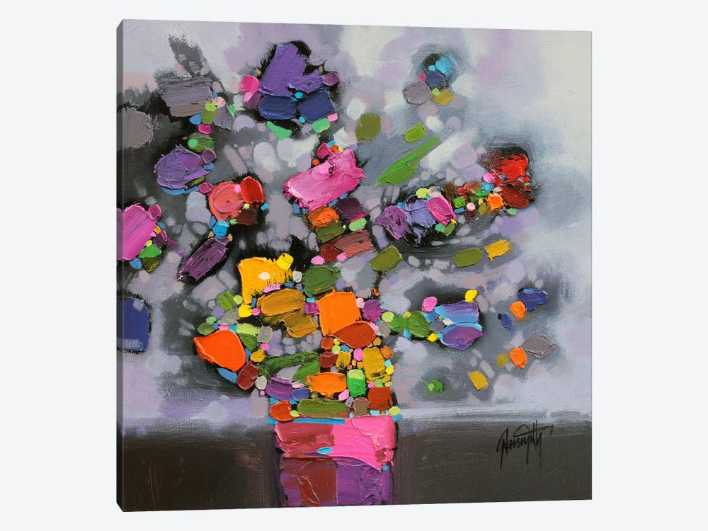 Bouquet II by Scott Naismith 1-piece Canvas Artwork