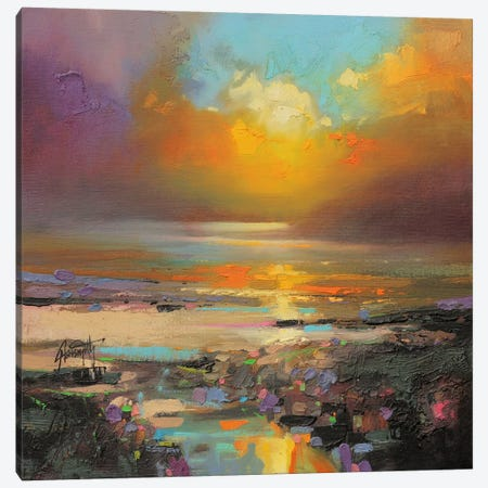 Golden Light Canvas Print #SNH35} by Scott Naismith Canvas Wall Art