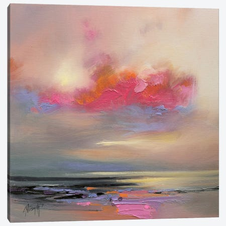 Magenta Cloud Canvas Print #SNH38} by Scott Naismith Canvas Print